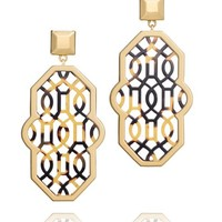 CHANTAL PERFORATED EARRING