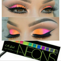L.A. GIRL NEONS 12 COLOR EYE PALLET