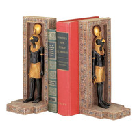 Park Avenue Collection Egyptian Horus Bookends