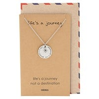 Blair Compass Necklace, Graduation Gifts