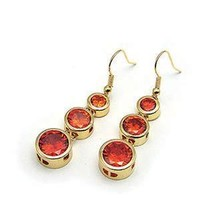 Citrus Stone Dangle Earrings