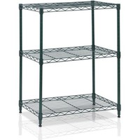 Furinno Wayar 3-Tier Heavy-Duty Wire Shelving, Multiple Colors - Walmart.com