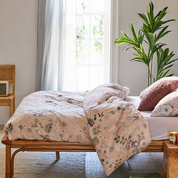 Olivia Floral Duvet Cover   Urban Outfitters