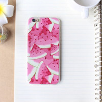 Watermelon Case Ultrathin Cover for iPhone 5 6 6s Plus