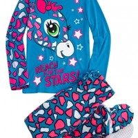 Giraffe 2pc Set with Removable Footies