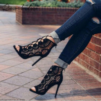 Women Shoes Summer Women Sandals Casual Peep Toe Shoes Platform Wedges Sandals Shoes Woman Gladiator Sapatos