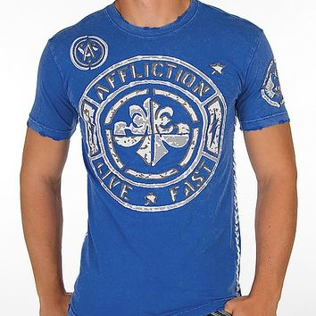 Affliction Stamp Jersey T-Shirt