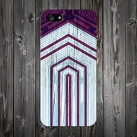 Violet x Sky Blue Tribal Geometric Wood Design Phone Case for iPhone 6 6 Plus iPhone 5 5s 5c 4 4s Samsung Galaxy s6 s5 s4 & s3 and Note 5 4