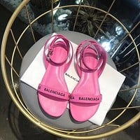 Balenciaga Ladies flat sandals-1