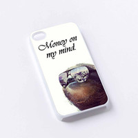 Money on My Mind Dolla Dolla Bill Sloth iPhone 4/4S, 5/5S, 5C,6,6plus,and Samsung s3,s4,s5,s6