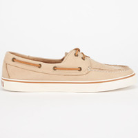 Sperry Top-Sider Washable Bahama Womens Boat Shoes Sand  In Sizes