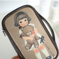 Paper Doll Cosmetic Pouch
