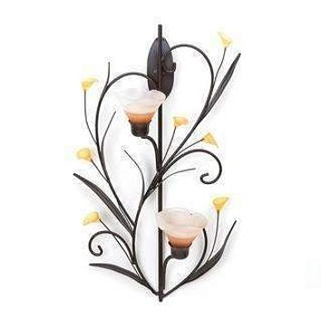 Candle Wall Sconces Amber Lilies Candle Wall Sconce