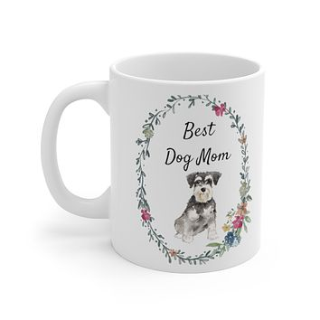 Best Dog Mom Mug — Mini Schnauzer