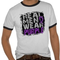 Epilepsy Real Men Wear Purple Shirts | Zazzle.co.uk