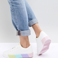 ALDO Sneaker with Contrast Color Block Sole at asos.com