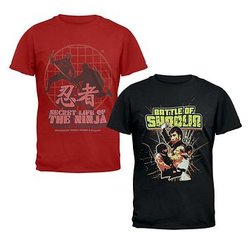 Classic Martial Arts - Series Two Piece T-Shirt Collector's Combo