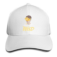 BAI XUE Troye Sivan Wild Adjustable Baseball Hat White