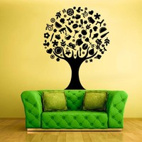 Wall Vinyl Decal Sticker Bedroom Decal Tree Items  z360