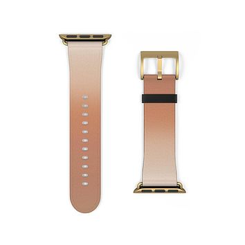 Terracotta Gradient Ombre Apple Watch Band