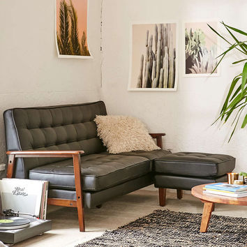 Campbell Vegan Leather Sectional - Urban Outfitters