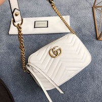 Gucci Gg Marmont Small Shoulder Bag #1384
