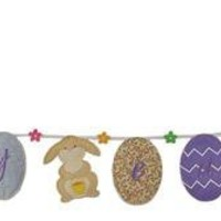 Happy Easter Banner - Groovy Holidays