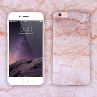 Wonderful Marble Printing Phone Case for iPhone 7 5s 6 6s Plus + Gift Box