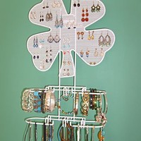 Clover Jewelry Organizer in White by Longstem - Mark of Quality