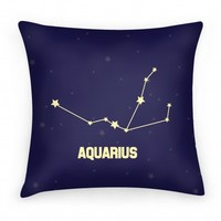 Aquarius Pillow
