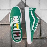 Vans 1966 OLD SKOOL Green Classics Shoes 35-44