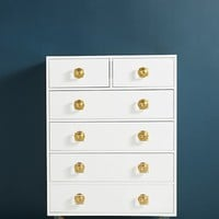Lacquered Regency Five-Drawer Dresser