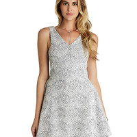 Brands | Party/Cocktail | Paisley Fit-and-Flare Dress | Lord and Taylor