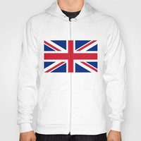 UK FLAG - The Union Jack Authentic color and 3:5 scale Hoody by LonestarDesigns2020 - Flags Designs + | Society6
