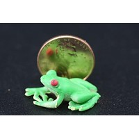 Miniature Red Eyed Tree Frog