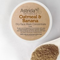 Oatmeal & Banana Clay Face Mask Concentrate