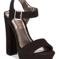 Material Girl Ciara Two-Piece Platform Dress Sandals, Only at Macy's | macys.com