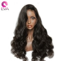 Lace Front Human Hair Wigs For Women Brazilian Body Wave Pre Plucked Hairline With Baby Hair 8''-26'' Remy Hair Wig Eva Hair