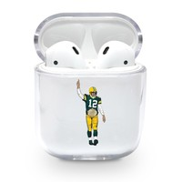 Championship Aaron Rodgers Packers Airpods Case