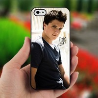 Josh Hutcherson With Signature - Photo on Hard Cover For iPhone 5