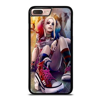 HARLEY QUINN DC iPhone 8 Plus Case Cover