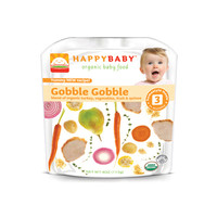 Happy Baby Organic Baby Food Stage 3 Gobble Gobble  4 Oz  Case Of 16