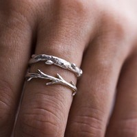 Silver Branch Twig set