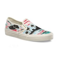 Vans Slip-On Canvas Old Skool Print Flats Shoes Sneakers Sport Shoes Day-First™