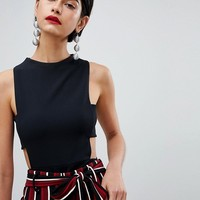 Missguided Cut Out Detail Body at asos.com