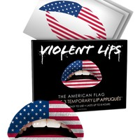 Violent Lips The American Flag