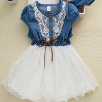 US Toddler Girl Princess Dress Kid Baby Party Wedding Pageant Tulle Tutu Dresses