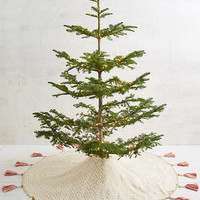 Tasseled Tree Skirt