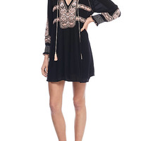 Free People Wind Willow Embroidery Dress