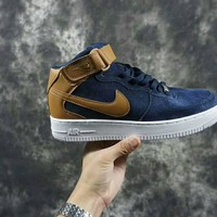 Nike Air Force 1 Mid blue shoe size 40-44